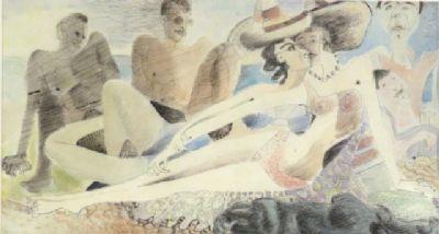 Blair Hughes-Stanton Play, Cassis, 1939