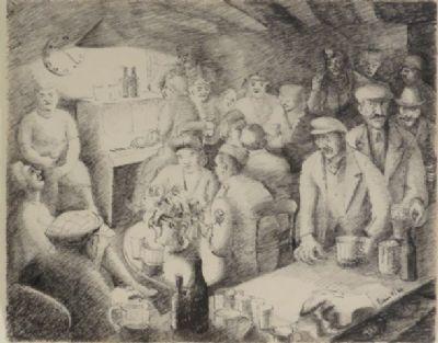 Blair Hughes-Stanton Pub Pianist, 1945