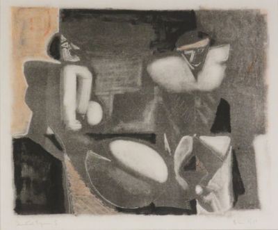 Blair Hughes-Stanton, Seated Figures I, 1953