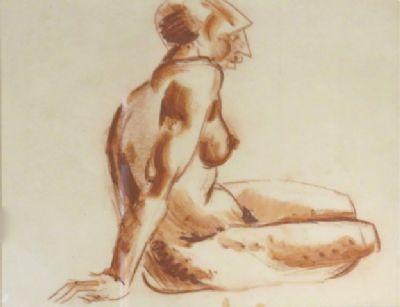 Blair Hughes Stanton Figure Drawing, 1927