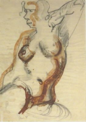 Blair Hughes Stanton, Figure Drawing, 2