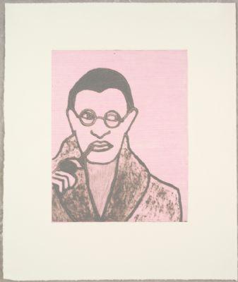 Boxer Jean Paul Sartre