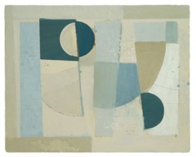 Daisy Cook, Moon River series with Prussian Blue