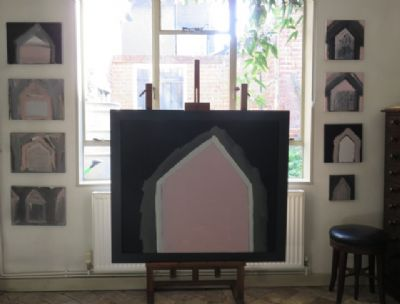 Small Pink House Series