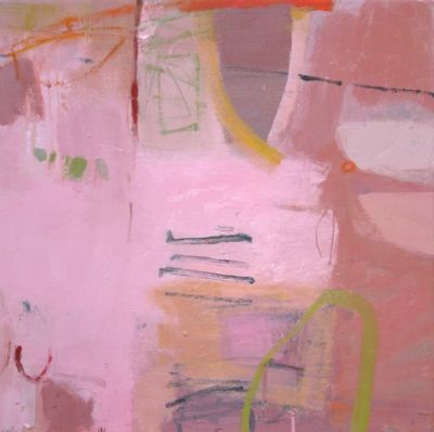 Jane Lewis, pink and then some