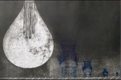 Mari Kidd, Light Bulb Chair 13
