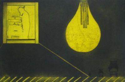 Mari Kidd, Light Bulb Chair 7