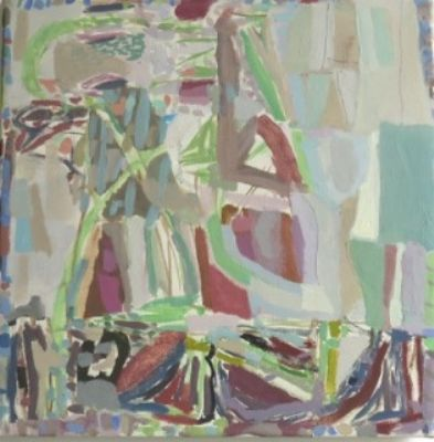 Oliver Soskice, Small Fen Abstract Painting
