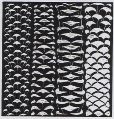 Peter Randall-Page, Four Palm Trunks