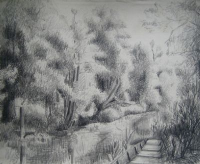 The Stour near Dedham