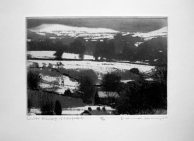 Winter Morning - Wharfedale