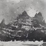 NORMAN ACKROYD Distant Islands Little Skellig Rock from Skellig