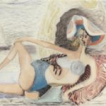 Blair Hughes-Stanton, Girl on the Beach, Cassis, 1938 - BLAIR HUGHES-STANTON