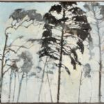 SUMMER LIGHT paintings and prints by ten artists Ffiona Lewis Morning Through Pine