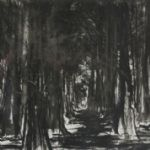 Jason Hicklin, Fox Covert, Etching - PATH