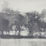 NORMAN ACKROYD Fragments Lakeside in Winter