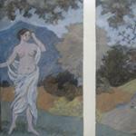 MICHAEL TINGLE INTAGLIO MYTHS Landscape with Good Reception III