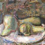 Oliver Soskice, Still life with pears -
