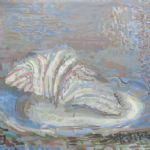 Oliver Soskice, Still life with shell -