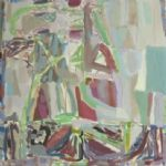 NORTH HOUSE GALLERY 20th Anniversary Show Oliver Soskice, Small Fen Abstract Painting