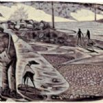 NEIL BOUSFIELD Engravings On Eccles Beach