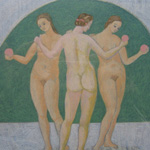 MICHAEL TINGLE INTAGLIO MYTHS The Three Graces