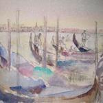 JAMIE BOYD  Gondolas, Venice