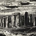 GERTRUDE HERMES Wood-engravings, Linocuts & Drawings Stonehenge 1963
