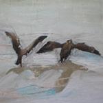 FFIONA LEWIS Paintings Landing Two Inspectors