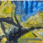 Thomas Robinson Recent Paintings Yellow Landscape